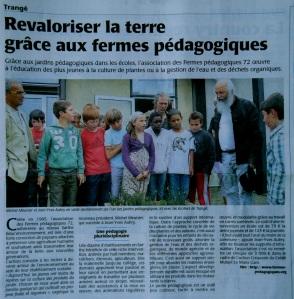 Maine-Libre 26 juin 2011 Fermes pédagogiques