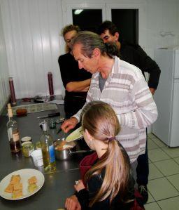 Maison des Abeilles : atelier cuisine 2