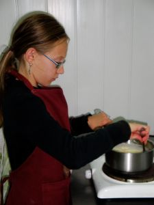 Maison des Abeilles : atelier cuisine 4 (Manon)