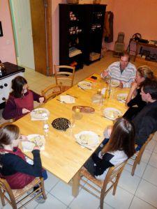 Maison des Abeilles : atelier cuisine 5 (à table)