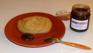 Mousse de pomme à la Crème de Noisette