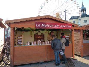La Maison des Abeilles au marché de Noël 2013, Le Mans